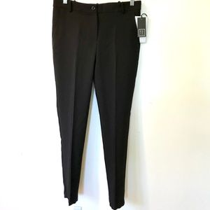 NWT Slim Pants, Luxury Fabric, Black - Large